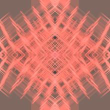 Kaleidoscope Pattern With Brig...