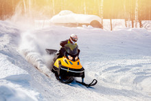 Snowmobile. Snowmobile Races I...