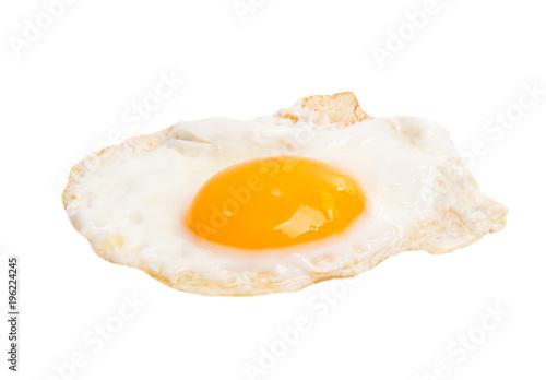 Foto op Plexiglas Gebakken Eieren fried egg isolated