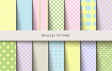 Easter Patterns Polka Dot Spri...