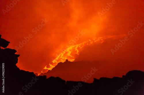 Erta Ale volcano Danakil depression Ethiopia