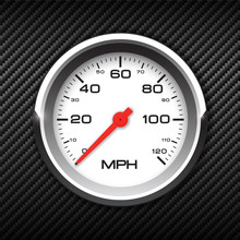 Vector Realistic Speedometer O...