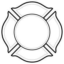 Black And White Firefighter Lo...