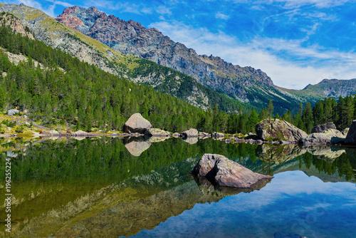 Itally, Aosta, Mont Avic Canvas Print