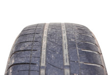 Worn Out Car Tire Tread / Dang...