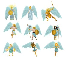 Winged Angels Collection