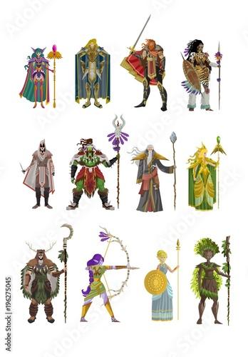 rpg videogame fantasy characters Wallpaper Mural