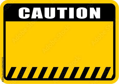 Carta da parati  caution, sign