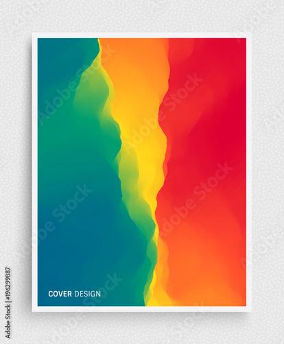 Photo  Cover design template