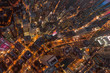 Aerial view of Hong Kong Central District