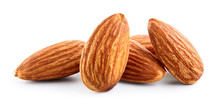 Almonds. Almond Nuts Isolated ...