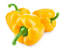 Paprika. Yellow Pepper. Sweet ...