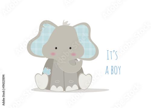 Photo nascita bambino, baby elephant