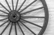 Detalle de rueda de carro