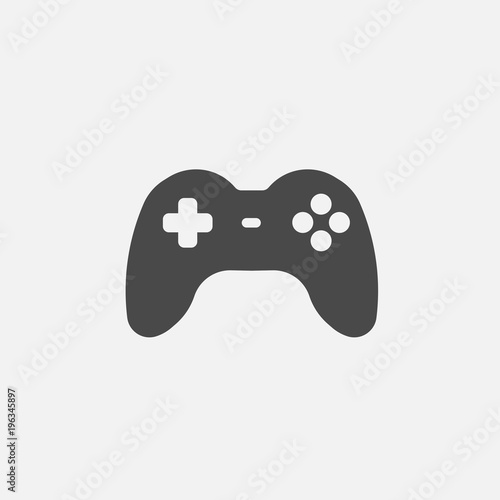 Fotomural gaming controller pad vector icon