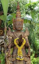 Deva Wood Carving In Praying H...