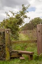 Public Footpath In Countryside...