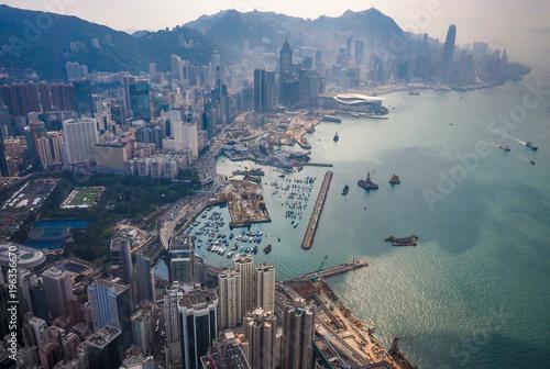 powietrzna-fotografia-hong-kong-linia-horyzontu
