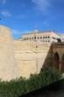 Historic old town wall of Valletta in Malta