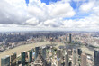 Aerial View of Shanghai Cityscape and skyline