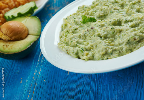 Recess Fitting Appetizer Mexican Avocado Salsa Verde