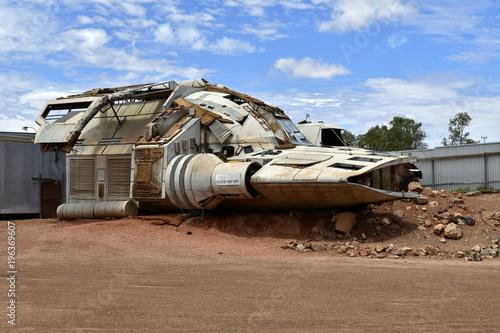 Poster UFO Australia, Coober Pedy
