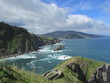 Waves on atlantic coast of Spain, Basque Country