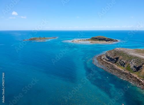 Photo  Drone view of Abrolhos, Bahia, Brazil