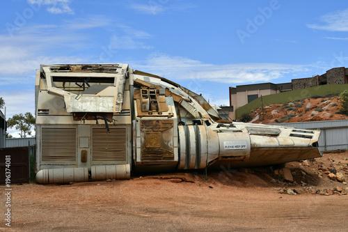 Foto op Canvas UFO Australia, Coober Pedy, UFO