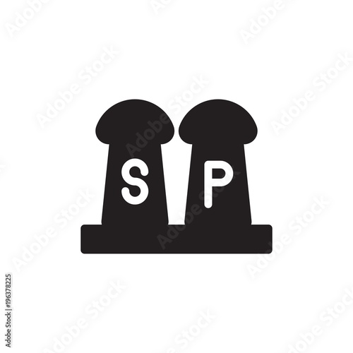 Salt And Pepper Filled Vector Icon Modern Simple Isolated Sign Pixel Perfect Vector Illustration For Logo Website Mobile App And Other Designs Buy This Stock Vector And Explore Similar Vectors At