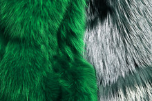 Luxury And Elegant Fluffy Clothes. Artificial Fur For Texture Background