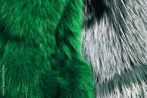 Vászonkép Luxury and elegant fluffy clothes