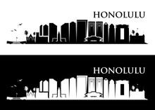 Honolulu Skyline - Hawaii