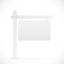 Blank Sign Illustration