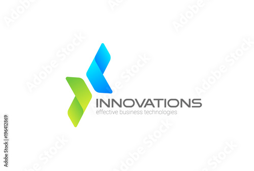 Obraz Arrows Corporate Invest Business Logo vector. Investment icon - fototapety do salonu