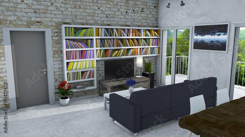 Living Arredamento Moderno.Arredamento D Interni Soggiorno E Arredamento Moderno