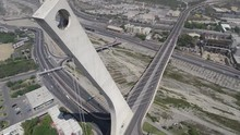 Aerial Shots Of Monterrey Mexico