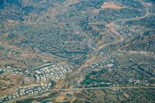 Aerial View Of Santa Clarita Area