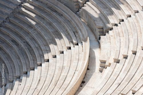 Fototapeta Steps part of stone amphitheater