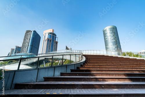 Photo  China Shanghai Lujiazui financial district