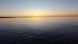 Sunrise Flying Across Ocean