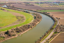 Aerial View Of The Sacramento Country Side