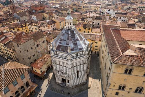 Pistoia Italy - Baptistery of San Giovanni
