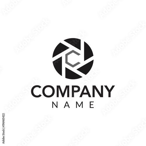 Fototapeta Photography vector logo icon illustration  obraz na płótnie