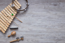 Pack Of Percussion Instruments...
