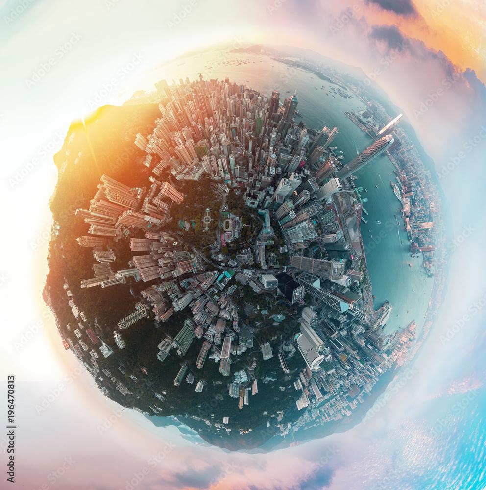 Panorama Hong Kong City