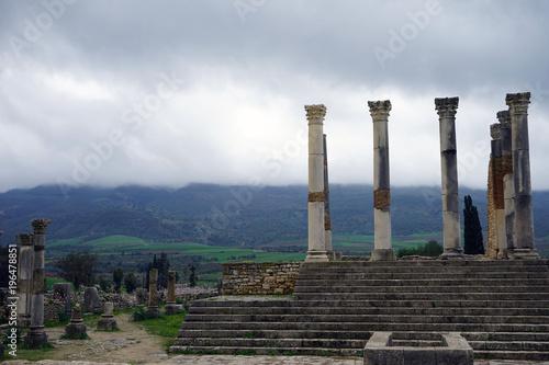 Foto op Aluminium Rudnes Ruins of ancient temple
