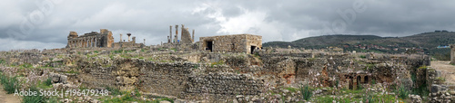 Foto op Canvas Rudnes Panorama of ruins
