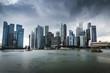 City skyline, Singapore