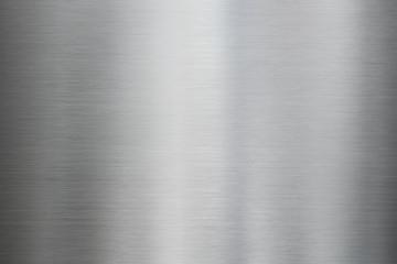 Fototapeta Metal brushed steel or aluminum texture